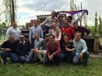 Asado Argentino con las familias