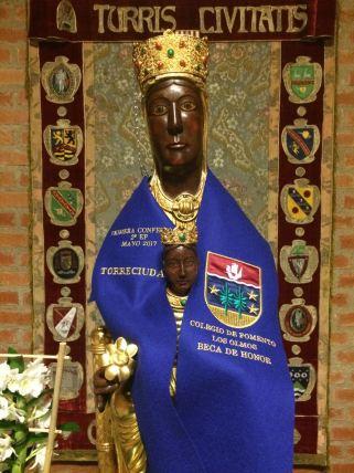 Beca de Honor Los Olmos 2017. Virgen de Torreciudad