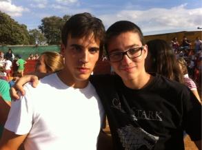 Alumno con Gonzalo