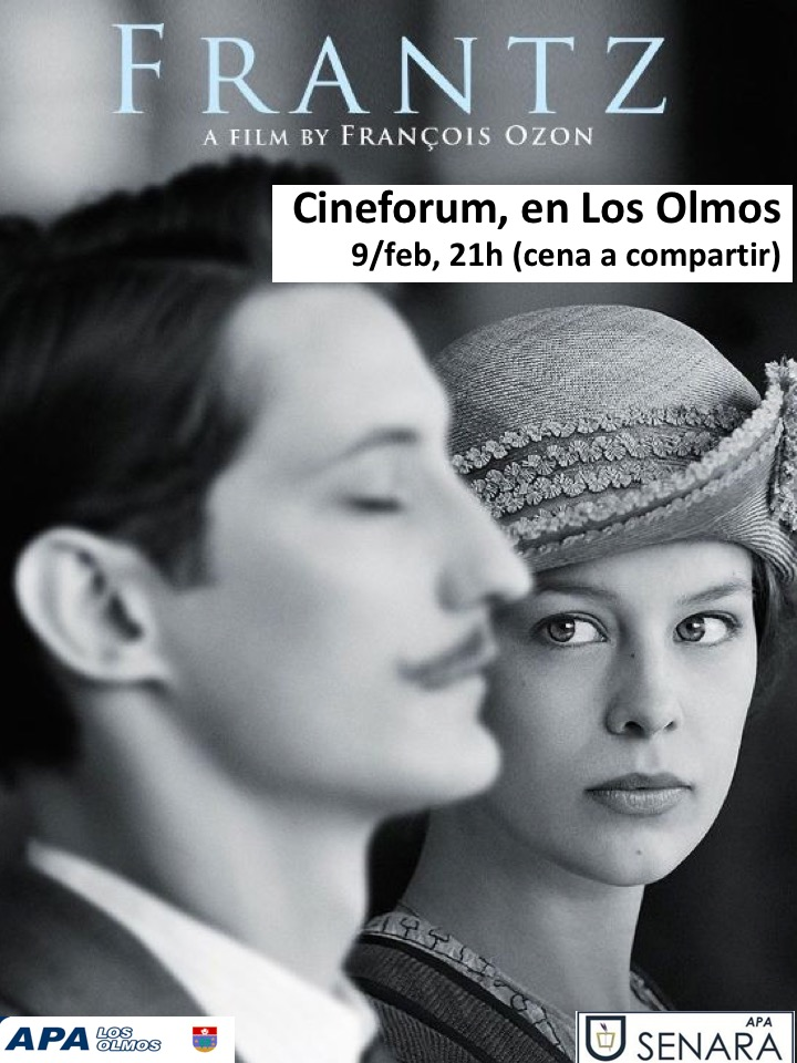 CARTEL CINEFORUM FRANTZ 2018-02-09
